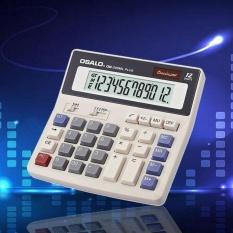 Hình ảnh Newworldmall Muti-function 12 Digits Calculator Student Large Keys Power Solar Battery - intl
