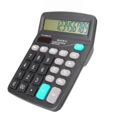 Hình ảnh Newworldmall Office 12-Digits Desktop Electronic Calculator Dual Power Supply Solar & Battery - intl