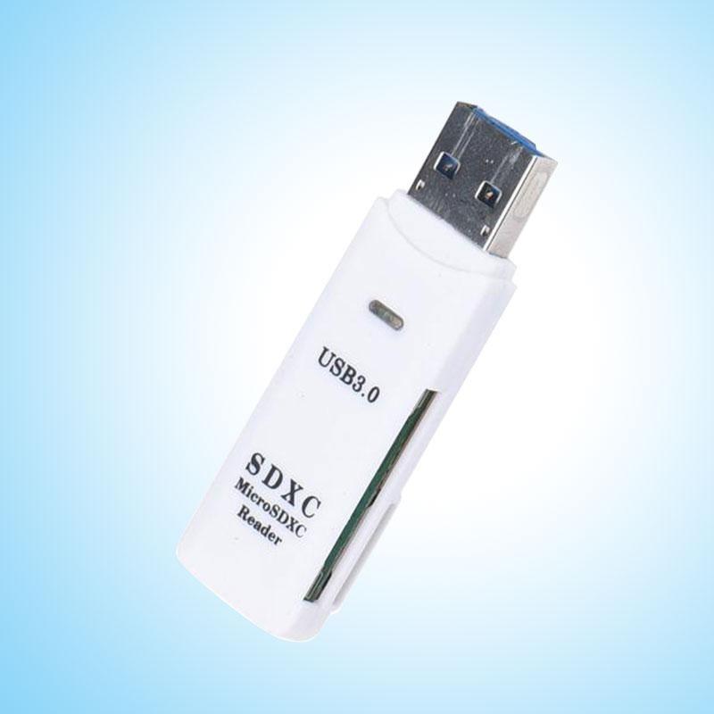 Bảng giá Newworldmall USB 3.0 USB2.0 Micro Flash TF Memory Card Reader Adapter High Speed Plug & Play - intl Phong Vũ