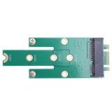 Ngff M 2 B M Key To Msata Mini Pci E Sata 3 Ssd Male Converter Card Green Intl Trong Trung Quốc