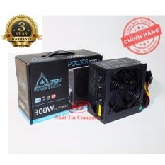 Nguồn công suất thực dành cho máy tính Vision VSP X300W Fan 14cm - Kèm dây nguồn (Đen) - Hãng phân phối chính thức