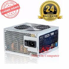 Nguồn dành cho máy tính bàn Vision 700W - Fan 12cm (Bạc) - Hãng phân phối chính thức