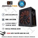 Giá Bán Nguồn May Tinh Cong Suất Thực Psu Xigmatek X Calibre Series Xcp A300 300W Xigmatek Tốt Nhất