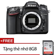 Cửa Hàng Nikon D7100 24 1Mp Body Đen Hang Nhập Khẩu Tặng Thẻ Nhớ Sdhc 8Gb Nikon Hồ Chí Minh