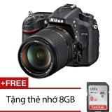 Giá Bán Nikon D7100 24Mp Với Lens Kit 18 140Mm Vr Dx Đen Tặng Thẻ Nhớ Sdhc 8Gb Vietnam