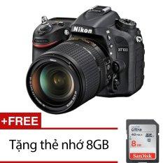 Cửa Hàng Nikon D7100 24Mp Với Lens Kit 18 140Mm Vr Dx Đen Tặng Thẻ Nhớ Sdhc 8Gb Rẻ Nhất