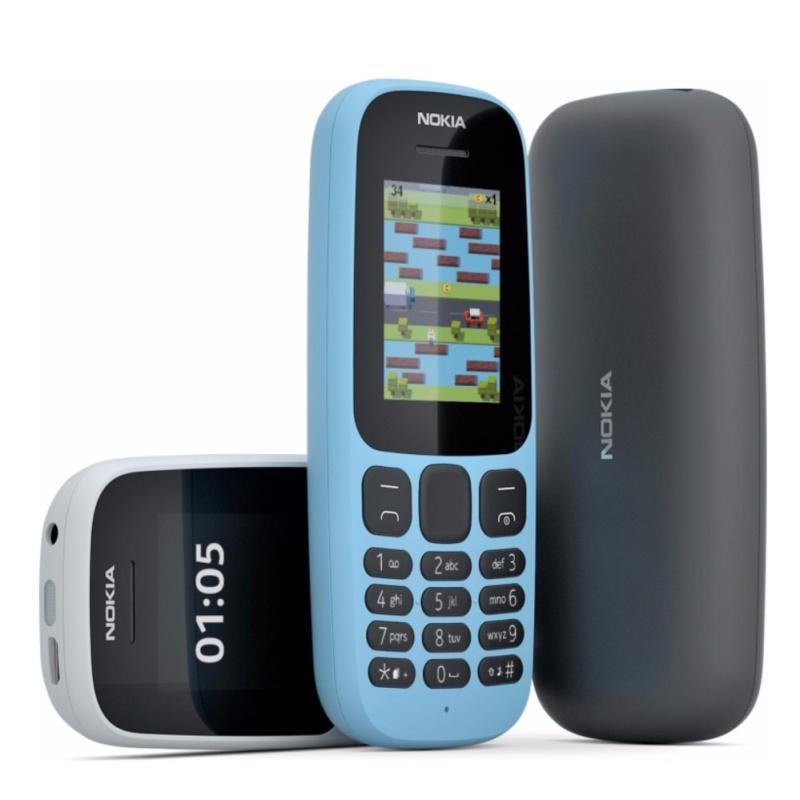 Nokia 105 1 Sim (2017) Black Hãng phân phối chính thức
