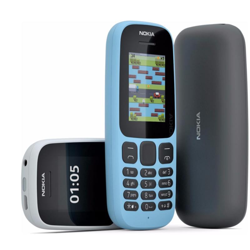 Nokia 105 Dual Sim (2017) Black Hãng phân phối chính thức