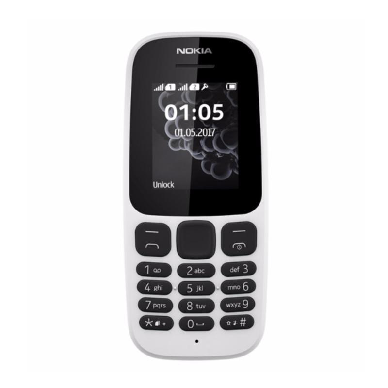 Nokia 105 Dual Sim (2017) white Hãng phân phối chính thức