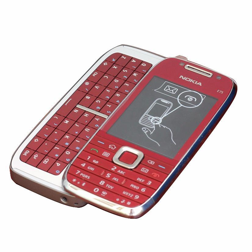 Nokia E75 Fullbox Màu Đỏ New 100%