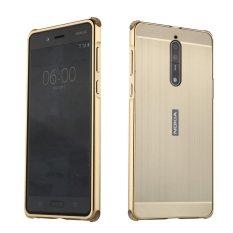 Giá Bán Nokia Lumia 8 Ốp Lưng Mooncase Kim Loại Sang Trọng Ốp Lưng Chải Cứng Nhựa Dẻo Trong 2 Trong 1 Bao Da Sieu Mỏng Khung Như Hinh Quốc Tế Có Thương Hiệu