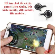 Hình ảnh Nút điều khiển chơi Game online mobile Joystick - bộ 2 tay trái phải (đen)