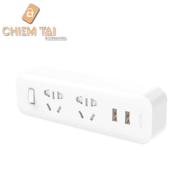 [HCM]Ổ cắm tích hợp 2 đầu 2 cổng USB Xiaomi