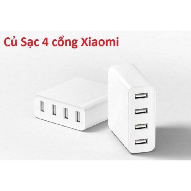 Ổ cắm Xiaomi sạc 4 cổng USB Xiaomi (Trắng)