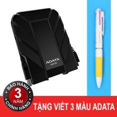 Bán Mua Ổ Cứng 3 500Gb Chống Sốc Chống Nước Adata Hd710 Đen Tặng Viết Adata Mới Vietnam