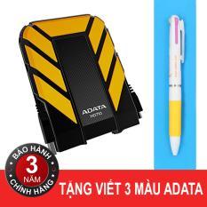 Hình ảnh Ổ cứng 3.0 500GB chống sốc, chống nước ADATA HD710 (Vàng) + Tặng viết ADATA