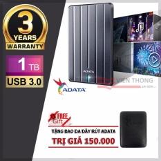 Ổ Cứng Di Động 3 1Tb Adata Hc660 Slim Titanium Tặng Bao Da Adata Adata Chiết Khấu 50