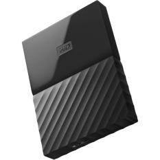 Hình ảnh Ổ cứng di động HDD Western Digital My Passport 1TB - Model 2017 (Đen)