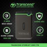 Ổ Cứng Di Động Transcend Storejet 25M3 1Tb Đen Transcend Rẻ Trong Hà Nội
