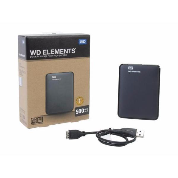 Bảng giá Ổ CỨNG DI  ĐỘNG WD 500GB Phong Vũ