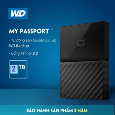 Mua Ổ Cứng Di Động Wd My Passport 2Tb Hang Nhập Khẩu