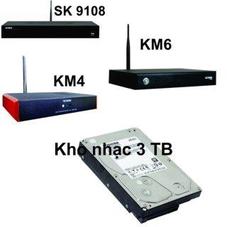Ổ Cứng Kho Nhạc karaoke Đầu Acnos SK 9108,KM4,KM6 HDD 3TB (3TB) thumbnail