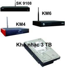 Giá Bán Ổ Cứng Kho Nhạc Karaoke Đầu Acnos Sk 9108 Km4 Km6 Hdd 3Tb 3Tb Nguyên Acnos