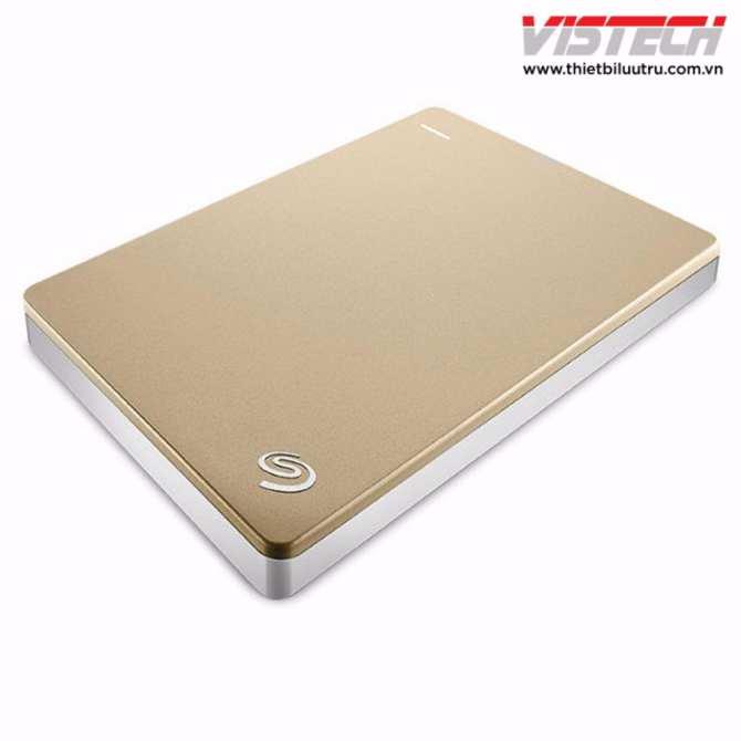 Hình ảnh Ổ cứng Seagate Backup Plus Slim 1TB 2.5inch (Vàng kim)