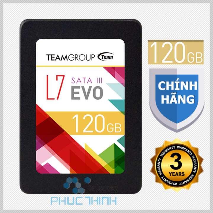 Ổ cứng SSD 120GB Team L7 (chíp Marvell controller của Mỹ ) EVO Sata III - Hãng phân phối chính thức