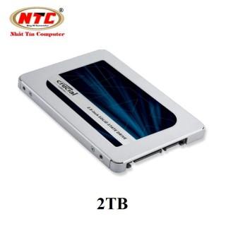 [Trả góp 0%] Ổ cứng SSD Crucial MX500 3D NAND SATA III 2.5 inch 2TB (Xanh) - Nhất Tín Computer thumbnail