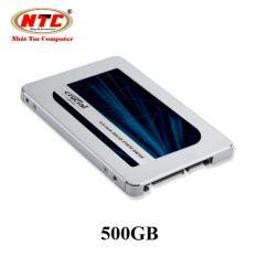 Ổ Cứng Ssd Crucial Mx500 3D Nand Sata Iii 2 5 Inch 500Gb Xanh Crucial Chiết Khấu 50