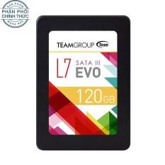 Hình ảnh Ổ cứng SSD TEAM L7 EVO Sata III 120GB (Đen) - Hãng phân phối chính thức