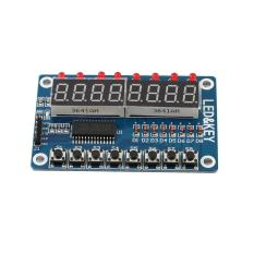 Hình ảnh OH 1pc 8-Bit Digital LED Tube 8-Bit TM1638 Key Display Module For AVR Arduino New - intl
