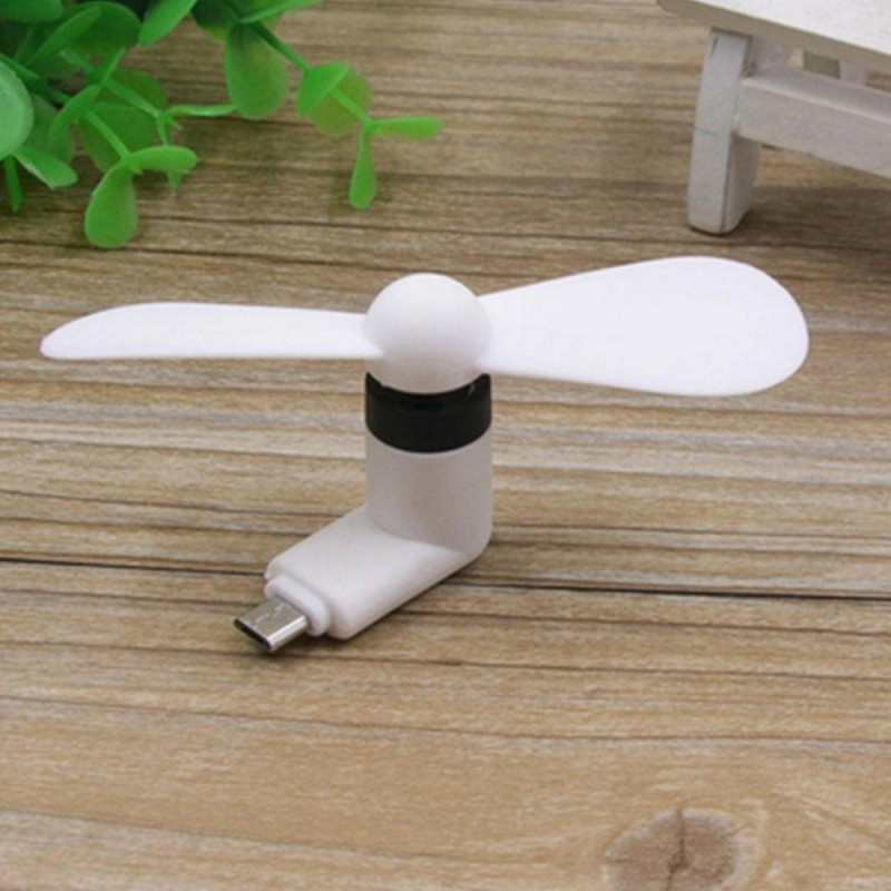 Bảng giá OH Mini USB Fan Plug & Play Sports Travel Quite Cooling Fan for Android Phone white - intl Phong Vũ