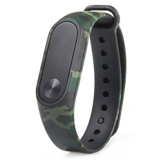 Ôn Tập Cửa Hàng Oh Replacement Watchband For Xiaomi Miband 2 Wristband Strap Colorful Watch Band Green Camouflage Intl Trực Tuyến