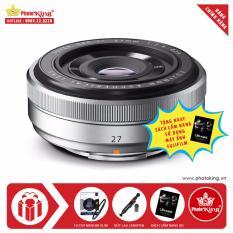 Giá Ống kính FujiFilm Fujinon XF 27mm F/2.8 (Bạc) + Tặng kèm Kính lọc Marumi Fit-Slim chính hãng + Bút lau ống kính lenspen + Sách Cẩm nang sử dụng máy ảnh FujiFilm - Hãng phân phối chính thức