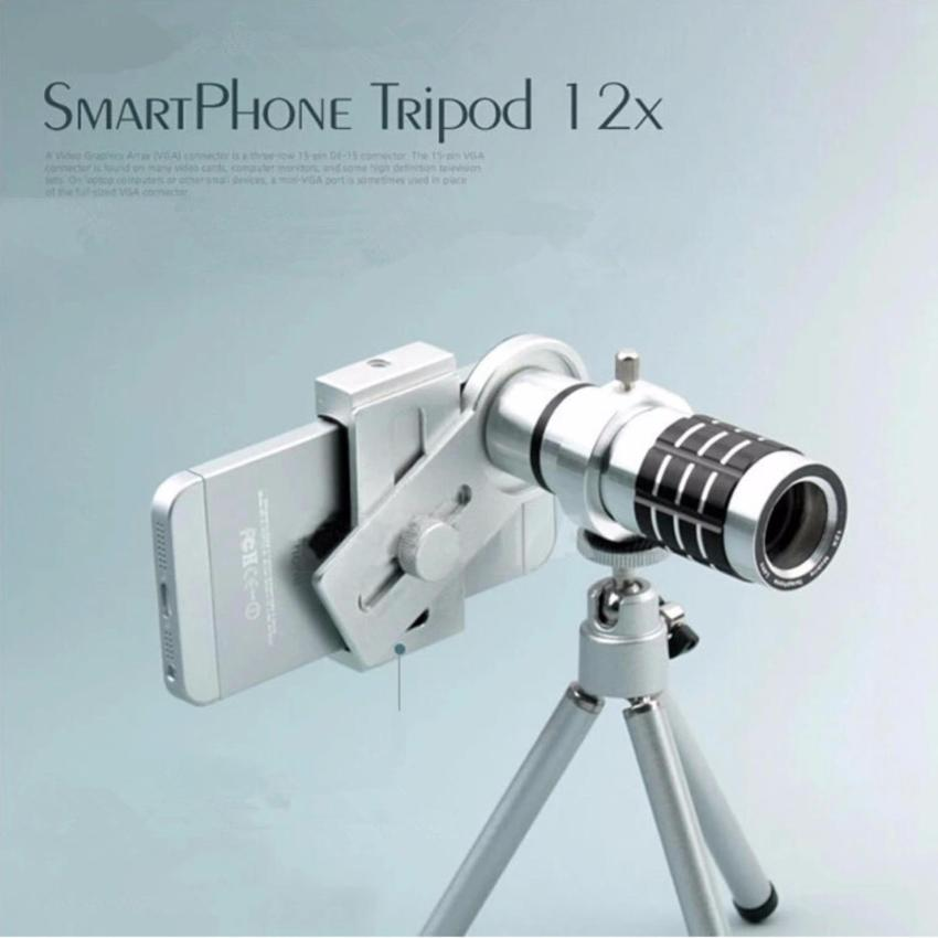 Mua Ống Kinh Lens Kit Zoom Xa Đa Năng 12X Cho Mọi Smart Phone Bạc Rẻ Vietnam