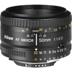 Mã Khuyến Mại Óng Kính Nikkor Af 50Mm F1 8D Đen Nikon Mới Nhất