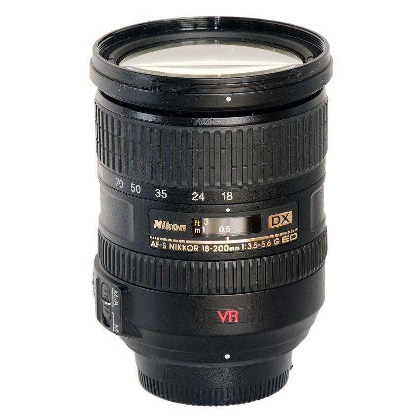 Cửa Hàng Ống Kinh Nikkor Af S Dx Vr Zoom 18 200Mm F3 5 5 6G Vr Ii Đen Hang Nhập Khẩu Nikon Hồ Chí Minh