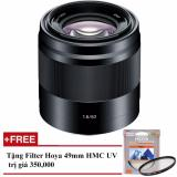 Ôn Tập Ống Kinh Sony Sel 50Mm F 1 8 Oss Đen Hang Sony Việt Nam Tặng 1 Filter Hoya Hmc Uv 49Mm