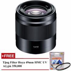 Bán Ống Kinh Sony Sel 50Mm F 1 8 Oss Đen Hang Sony Việt Nam Tặng 1 Filter Hoya Hmc Uv 49Mm Nguyên