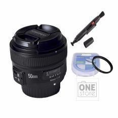 Ống Kính Yongnuo 50mm F1.8 Cho Nikon Tặng Kèm Filter 58mm Và Bút Lau Lens Giảm Duy Nhất Hôm Nay