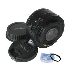 Ống Kính Yongnuo YN50mm F1.8 Dành Cho Canon Tặng Kèm Filter 52mm Đang Ưu Đãi Cực Đã