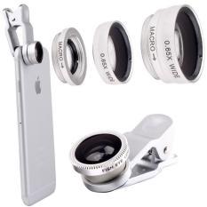 Ống Lens chụp hình cho điện thoại 3 in 1 (màu bạc)