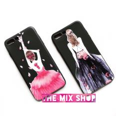 Giá Bán Ốp In Hinh 3D Lady In Pink Iphone 6 Plus 6S Plus Mới
