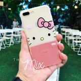 Ốp In Hinh 3D Meo Kitty Iphone 7 Plus Nguyên