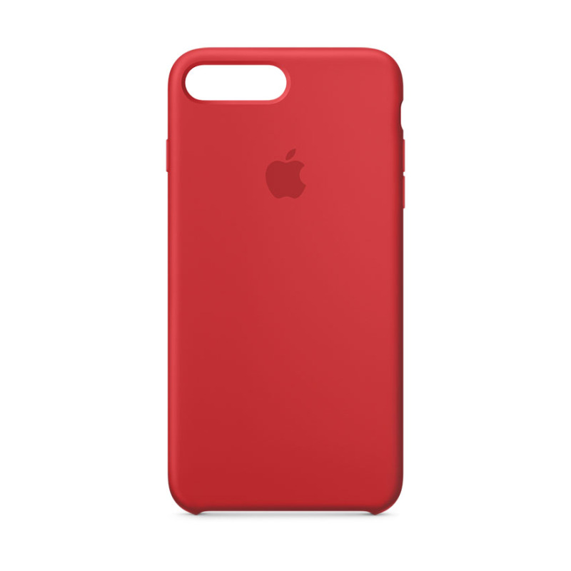 Giá Ốp Lưng Apple iPhone 8 Plus / 7 Plus Silicone Case (PRODUCT)RED