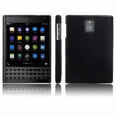 Mua Ốp Lưng Blackberry Passport Van Ca Sấu Mau Đen Ione