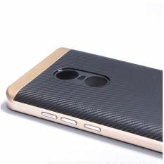 Ốp lưng cao cấp 2 thành phần cho Xiaomi Redmi Note 4X (Vàng - đen)