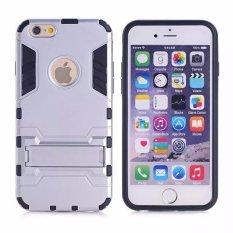 Ốp lưng cho Iphone 5/5S/SE - Iron man (Bạc)